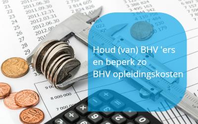 BHV opleidingskosten besparen