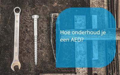 Hoe onderhoud je een AED