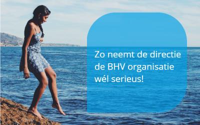 BHV organisatie serieus nemen