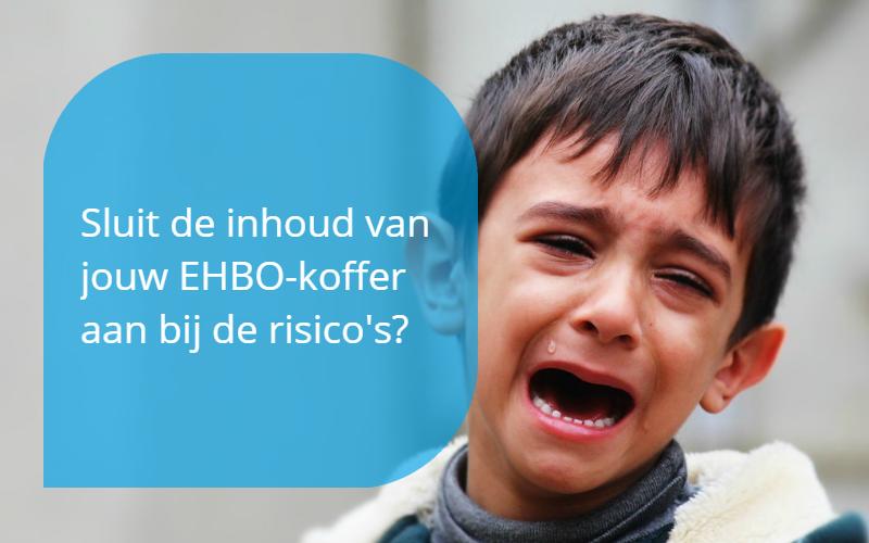 Sluit de inhoud van jouw EHBO-koffer aan bij de risicos