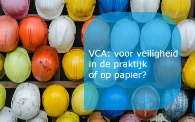 VCA voor veiligheid