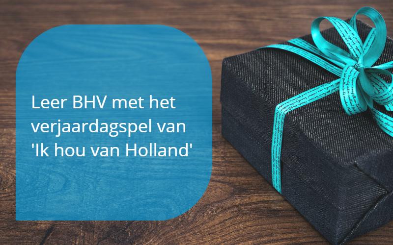 Verjaardagsspel van 'Ik hou van Holland'