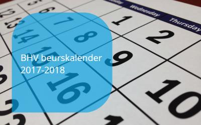 BHV beurskalender 2017-2018