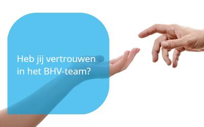 vertrouwen in het BHV-team