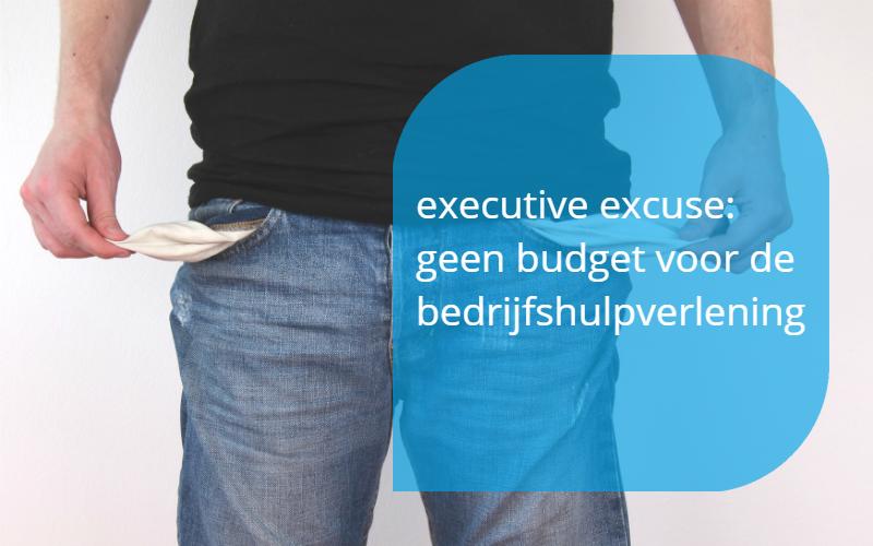 geen budget voor BHV