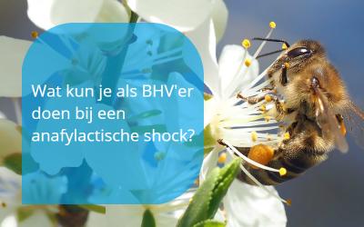 BHV bij anafylactische shock