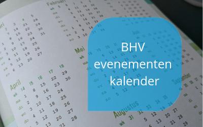 BHV evenementen kalender