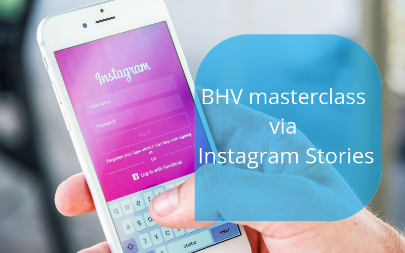 mini BHV masterclass via Instagram Stories