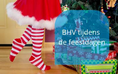 BHV tijdens de feestdagen