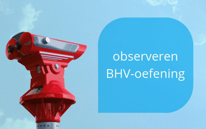 observeren bhv-oefening