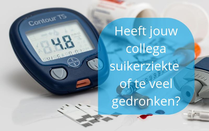 Herkennen van symptomen van suikerziekte