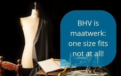 BHV is maatwerk