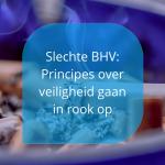 slechte BHV en principes