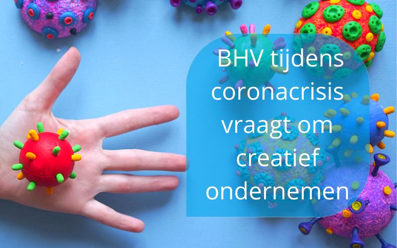 BHV podcast over BHV tijdens coronacrisis door Marieka Baars