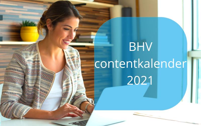 BHV contentkalender 2021 door Marieka Baars