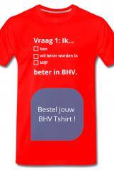 BHV kleding quiz