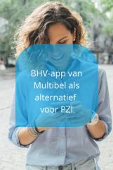 BHV-app van Multibel als alternatief voor PZI