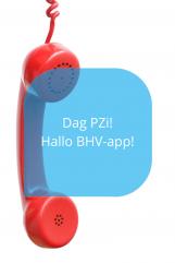 BHV-app van Multibel dag PZI
