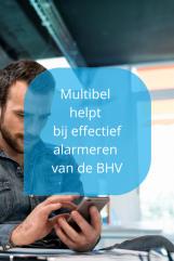 BHV-app van Multibel voor effectief alarmeren